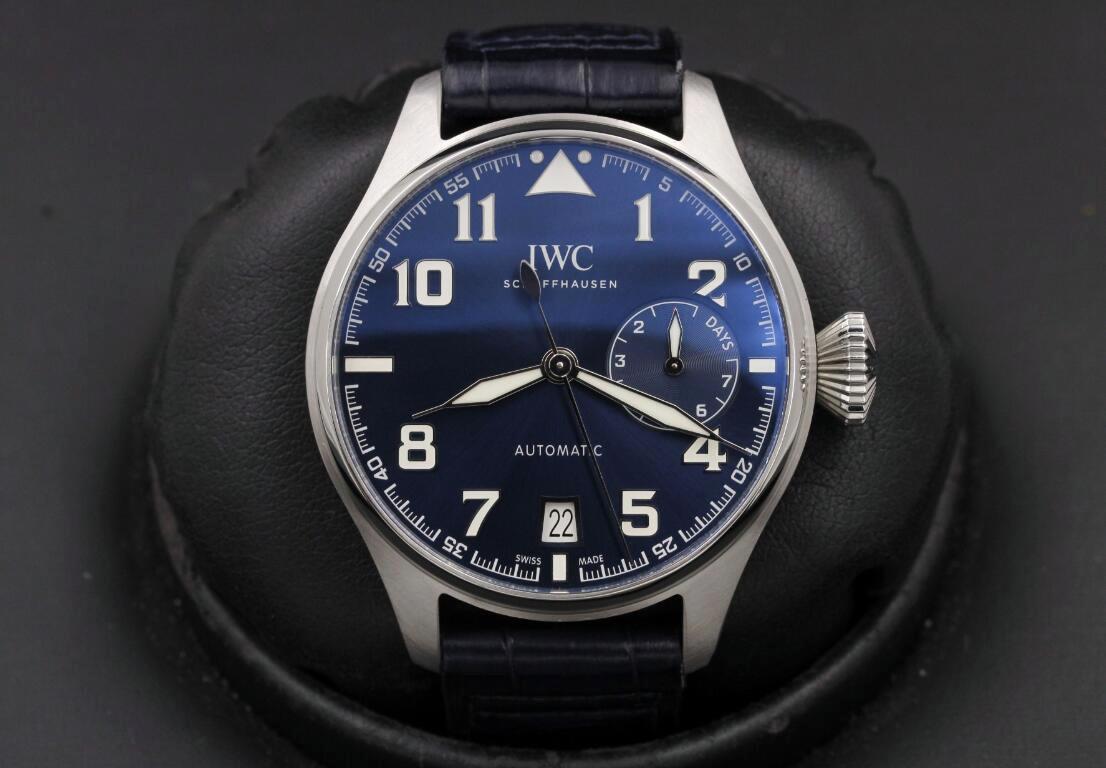 A Tökéletes IWC Big Pilot IW500908 Replikaóra Értékelés!